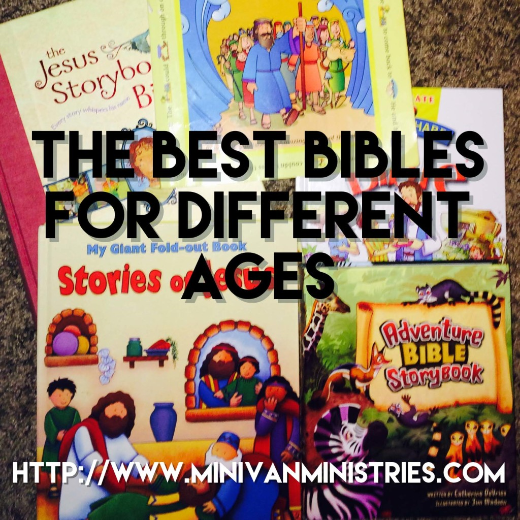 The Best Bibles for Different Ages