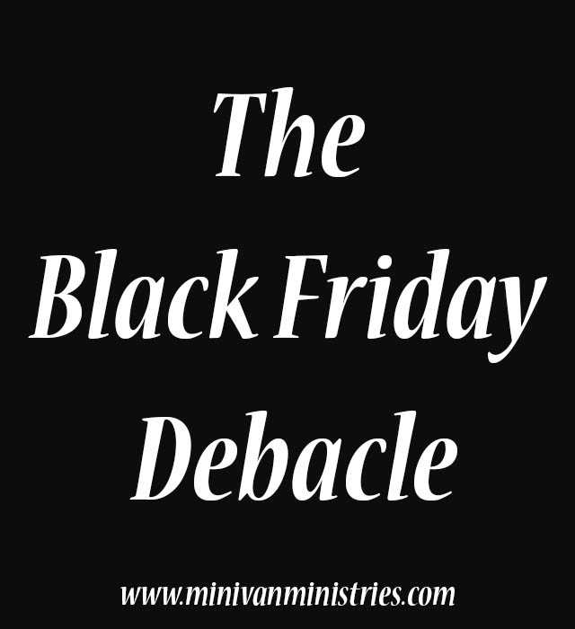The Black Friday Debacle