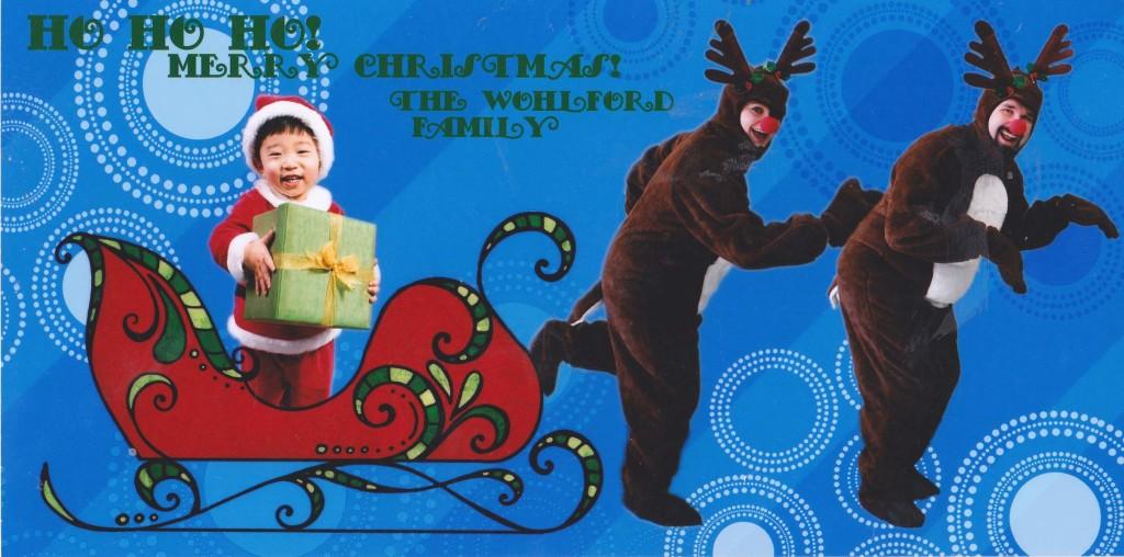 Crazy Christmas Card Greetings