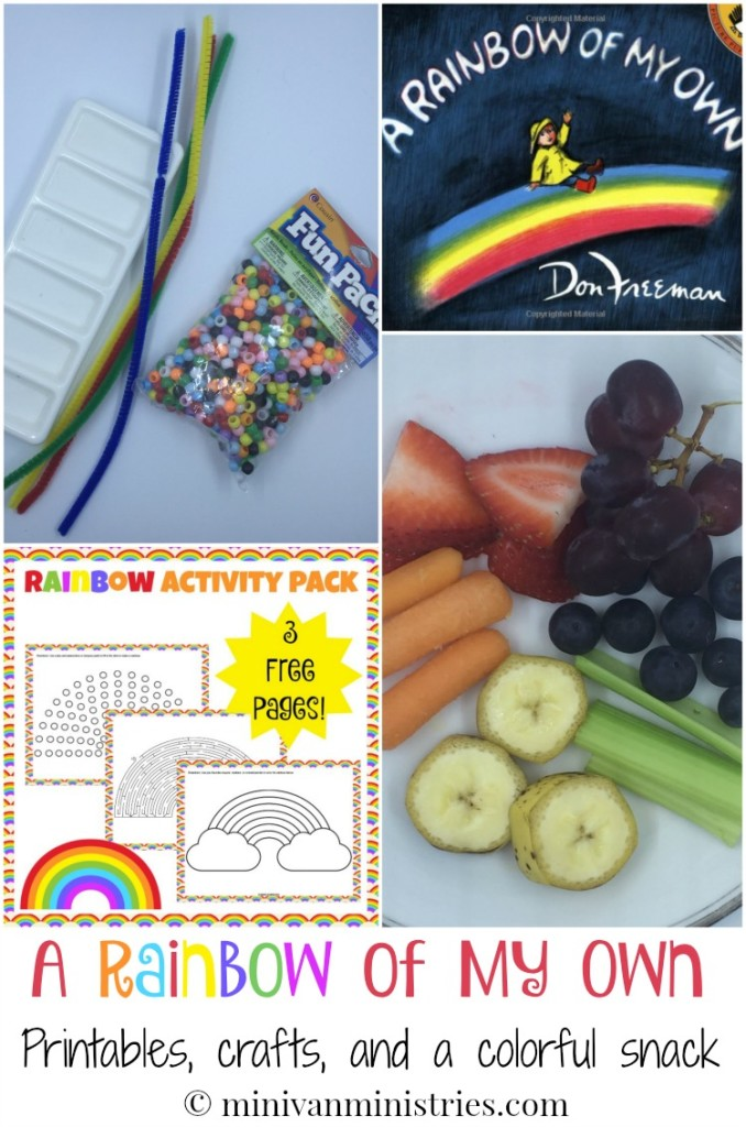 Picnic Parade:  A Rainbow of My Own