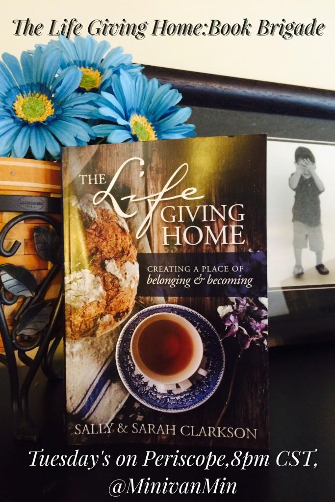 The Life Giving Home: Book Brigade April 2016