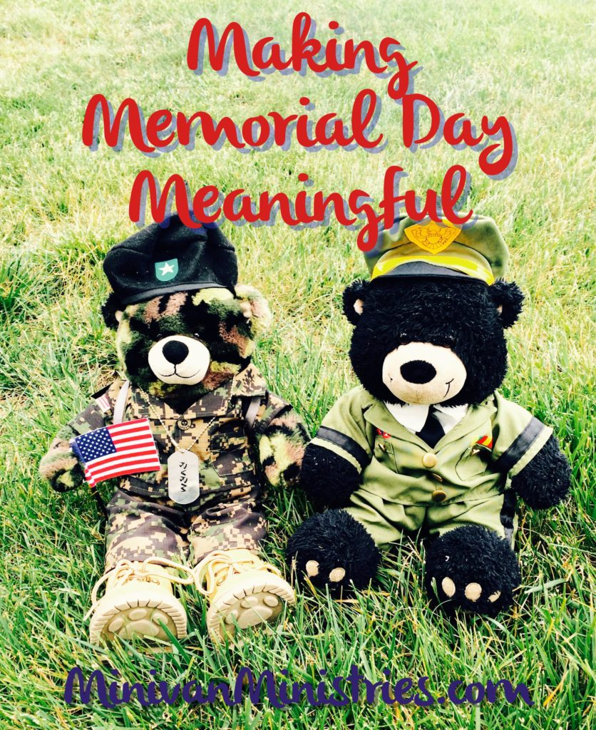 Making Memorial Day Meaningful