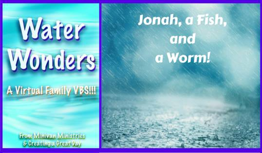 Water Wonders: Jonah, a Fish, and a Worm