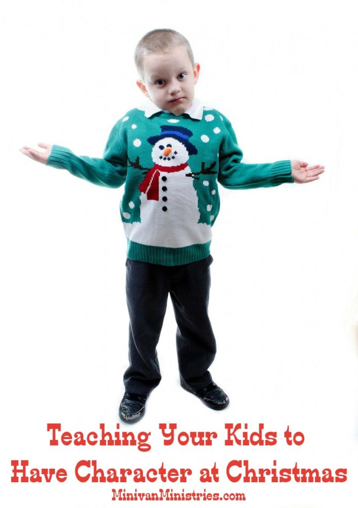 Teaching Your Kids to Have Character at Christmas