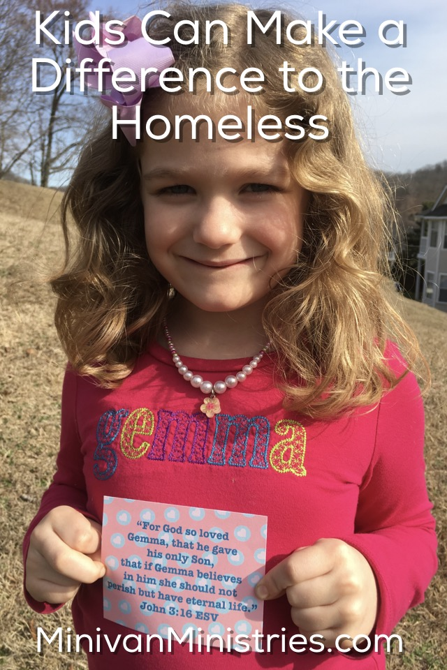 Kids Can Make a Difference to the Homeless