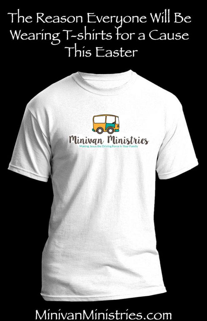 minivan ministries t-shirt