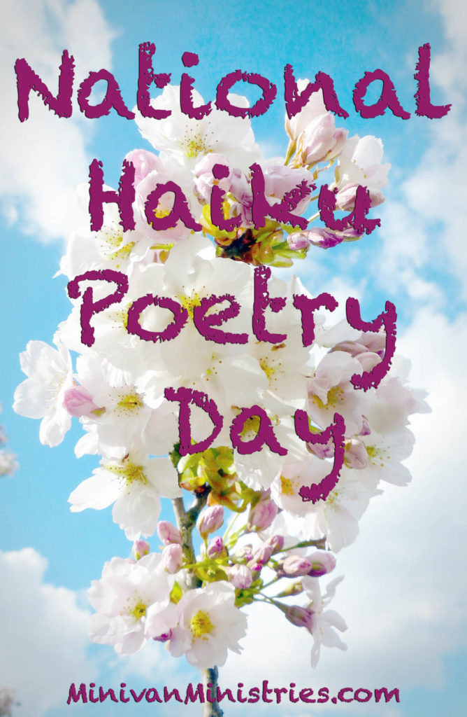 A Unique Spin on National Haiku Poetry Day