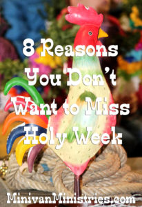 holy week rooster