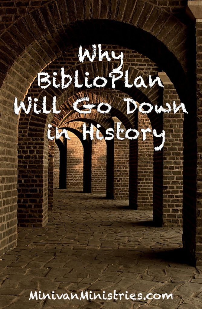 Why BiblioPlan Will Go Down in History