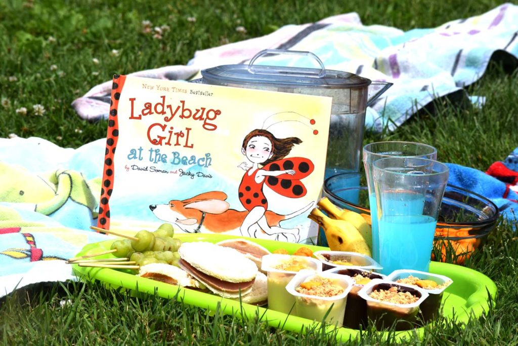 Join the Picnic Parade:  Ladybug Girl at the Beach