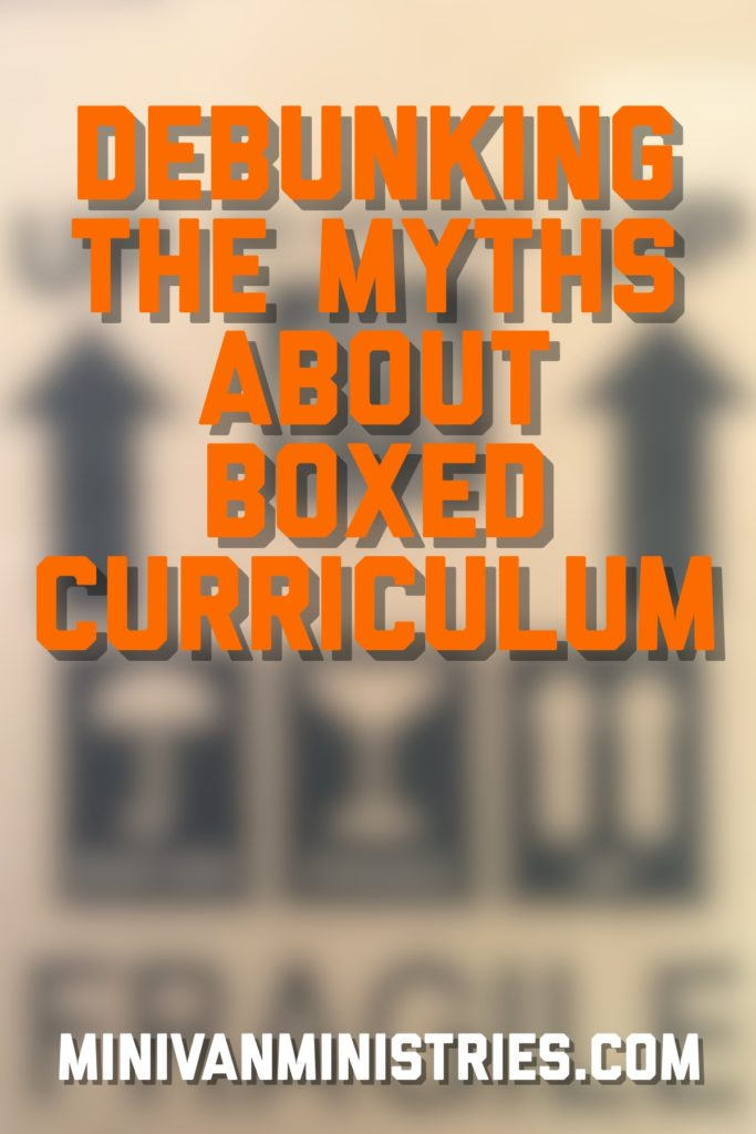Debunking the Myths about Boxed Curriculum