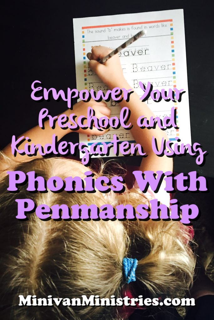 Empower Your Preschool and Kindergarten Using Phonics With Penmanship