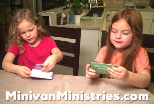 Preschoolers Reading the John 3:16 Tract