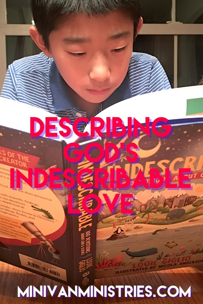Describing God's Indescribable Love